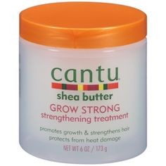 Cantu Shea Butter Grow Strong Strengthening Treatment 6 oz. Jar, Multicolor