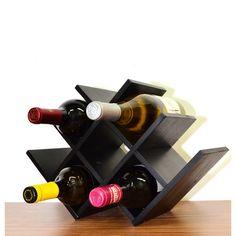 Found it at Wayfair - Venezia 8 Bottle Tabletop Wine Rack