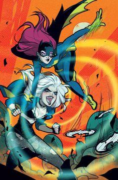 Batgirl + Black Canary #dc