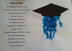 Preschool Graduation Poem Preschool Graduation Poems, Preschool Poems, Graduation Songs, Graduation Crafts, Pre K Graduation, Preschool Art Projects, Preschool Programs, Preschool Classroom, Preschool Activities