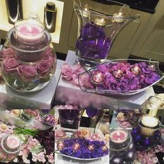 Simply stunning decorated pieces from our clearly creative range  JoBody.partylite.co.uk/shop