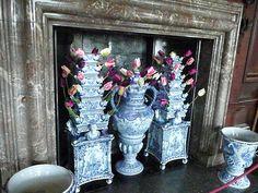 Delft Tulip vases