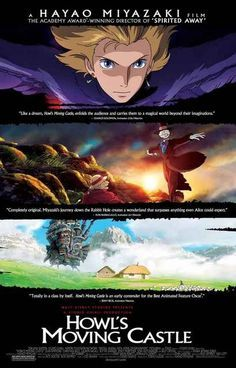 A great poster for Hayao Miyazaki's Academy Award-nominated anime movie Howl's Moving Castle! A classic from Studio Ghibli. Ships fast. 11x17 inches. Check out the rest of our amazing selection of Hay