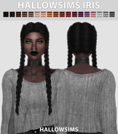 HallowSims Iris hair for The Sims 4 The Sims 4 Pc, Sims 4 Cas, Sims 1, Sims Mods, Pelo Sims, The Sims 4 Cabelos, Sims4 Clothes, Sims 4 Toddler, The Sims 4 Download