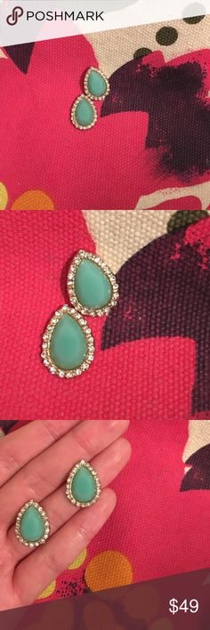 Francesca's Collections tear drop earrings Never worn but sanitized just in case. Backs included. OFFERS OPEN. Francesca's Collections Jewelry Earrings