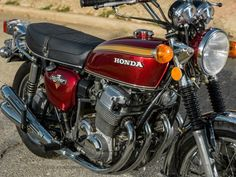 Honda CB750 - The bike that changed it all.