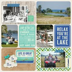 Digital Project Life with Great Outdoors Theme Pack By Jenn McCabe