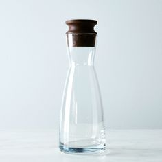 1/2 Liter Carafe with Walnut Stopper