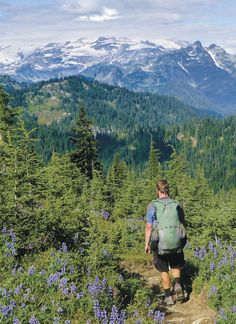 Washington - Mt. Rainier National Park - Pacific Crest Trail Association - Photo Gallery