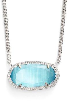 Kendra Scott 'Dylan' Stone Pendant Necklace