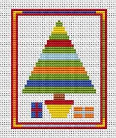 Sew Simple Christmas Tree cross stitch kit