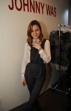 Brie Larson, Johnny Was Clothing at Sundance Star Fashion, Girl Fashion, Iron Man Spiderman, Johnny Was Clothing, Brie Larson, Best Actress, Girl Crushes, Beautiful Celebrities, American Actress
