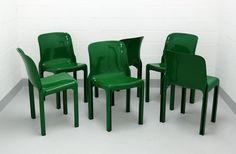 Vico Magistretti Selene Stühle von Artemide Eames, Armchair, Plast, Stabil, Furnitures, Vintage, Home Decor, Nice Asses, Sofa Chair