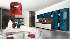 GLASS proposes a new way of interpreting the kitchen area, where refined design and the elegance of glass add a touch of personality that makes the difference. GLASS is a particular emotion that breathes with the beauty of real, authentic and un Kitchen Shop, Glass Kitchen, Kitchen Design, Love Your Home, Glass Collection, Dining Room Furniture, Kitchen Storage, Glass Door, Ceiling Lights