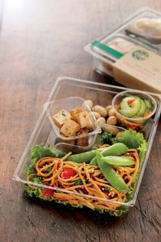 Did you know: Starbucks Bistro Boxes all weigh-in under 500 calories