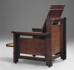 Frank Lloyd Wright Chairs Chair Covers Edinburgh 334 Best Fllw Images In 2019 1867 1959 A Rare And Important Reclining Armchair 1902 03