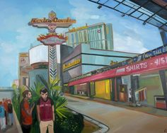 Carmen Stanescu - Google+ Oil Paintings, Oil On Canvas, Las Vegas, Fair Grounds, Google, Fun, Travel, Voyage, Painted Canvas
