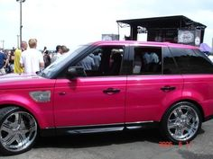 I know what color I'm painting my SUV ;)