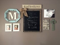 Photo Gallery Collage Wall
