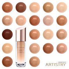 #Artistry #skin #skincare #foundation #seasons #makeup #beauty