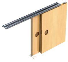 I need ideas for sliding cabinet doors the cheap version hi tech sliding cabinet door track system eventshaper