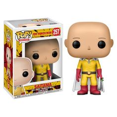 Funko Pop Anime: One Punch Man-Saitama. From One Punch Man, Saitama, as a stylized POP vinyl from Funko! Stylized collectable stands 3 ¾ inches tall, perfect for any One Punch Man fan! Collect and display all One Punch Man POP! Saitama One Punch Man, Anime One Punch Man, Pop Vinyl Figures, Funko Pop Figures, Anime Pop Figures, Disney Stars, Pop 100, Anime Shop, Funko Pop Anime
