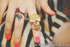 cute red nail art » Nail Designs & Nail Art