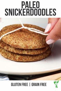 Paleo Cookie Recipe, Paleo Cookies, Gluten Free Cookies, Gluten Free Recipes, Cookie Recipes, Paleo Sweets, Paleo Dessert, Diet Desserts, Healthy Desserts