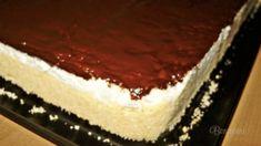 Hříšně dobrý domácí tvarohový koláč recept – mojekuchyn Czech Recipes, Ethnic Recipes, Sweet Desserts, Food Styling, Tiramisu, Baking Recipes, Cheesecake, Food And Drink, Meals