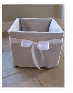 Decorative recycled bin..basket
