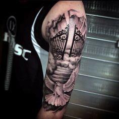 ... Heaven Tattoos on Pinterest | Cloud Tattoos Tattoos and Dove Tattoos