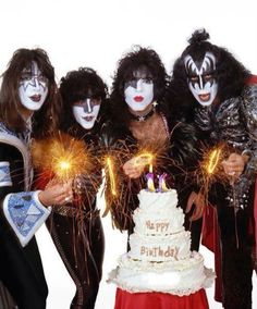 Ace Frehley, Eric Carr, Paul Stanley, Gene Simmons