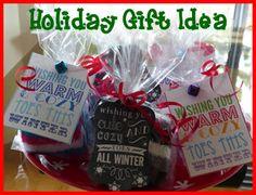 Holiday Gift Idea -  Teacher Holiday Gift, Neighbor Christmas Gift Idea http://kidpep.com/blog/easy-holiday-gift-idea/