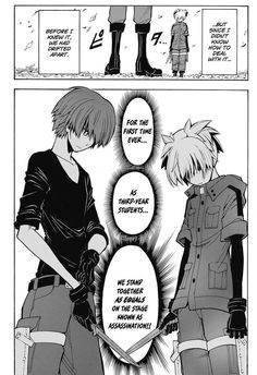 Akabane Karma & Shiota Nagisa || Assassination Classroom | Chapter 147