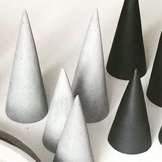 Looking for some minimalist Christmas decorations? These concrete cones that just arrived in from Zakkia yesterday do just the trick! #minimalistchristmas #concrete #zakkia #shutthefrontdoorstore #stfdnz