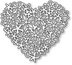 flower dies | ... are us made steel dies compatible with most table top die cutting