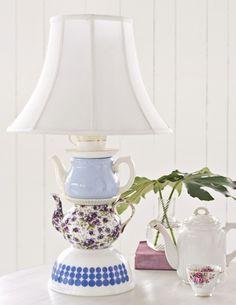 Sweet Paul's #DIY Teapot Table Lamp