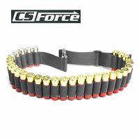 130*5CM Outdoor Airsoft Hunting Tactical 29 Shotgun Shell Bandolier Belt 12/20 Gauge Ammo Holder Military Bullet Cartridge Belt
