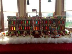 Notre Dame, Cinderella's carriage and more over-the-top gingerbread creations