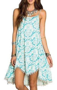 Love the print and the colors, not necessarily the style of the dress.