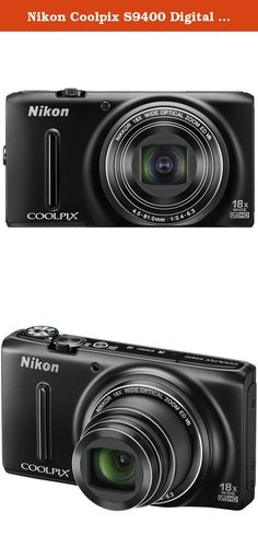 """Nikon Coolpix S9400 Digital Camera (Black). ***FACTORY REFURBISHED*** COOLPIX S9400 - Sensational performance. Stylishly refined. 18.1 MP CMOS Sensor 18x Zoom NIKKOR ED Glass Lens 3.0"""" OLED Display (614K) 1080p Full HD Video with Stereo Sound Super-telephoto zoom power in a sleek, stylish package. Sure to turn heads, the COOLPIX S9400 sacrifices nothing for a sleek, stylish design. Packed inside its pocket-sized body is a powerful 18x zoom super-telephoto NIKKOR glass lens with lens-shift..."""