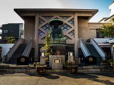 The six Jizo, called the Six Great Jizo of Edo guarded the city's entrances; Tozenji's Jizo guarded the entrance of Oshukaido, the road connecting Edo to Fukushima. #Asakusa, #Jizo, #Oshukaido, #Fukushima 3/3 © Grigoris A. Miliaresis