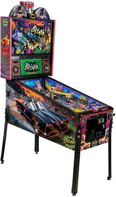 Flipper Pinball, Pinball Games, Pinball Wizard, Arcade Games, Arcade Game Machines, Arcade Machine, Batman 1966, Vintage Television, Retro Arcade