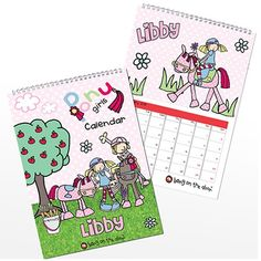Personalised Bang on the Door Pony Girl Calendar  from Personalised Gifts Shop - ONLY £12.99