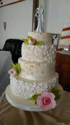 Torta Novios con bizcocho real