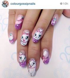 . Natural Acrylic Nails, Disney Nails, Nail Arts, Summer Nails, Manicure, Nail Designs, Sari, Designed Nails, Pretty Nails