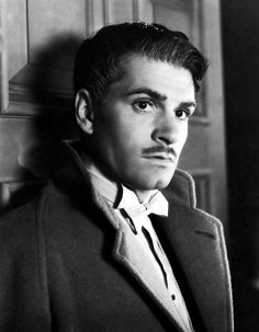Laurence Olivier in Rebecca (1940) My favourite book cast perfectly in this movie version.  LL