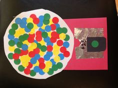 Got this idea from another pin for letter G week. We used sticker dots. David drew a number and had to put that many gum balls in the machine. Great learning craft.  He loved it.