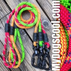 Ultimate Dog Leashes Handmade with High Visibility UIAA & CE rated Climbing Rope, nanoSwivel & Locking Carabiner. Made in USA. Rope Dog Leash, Climbing Rope, Working Dogs, Big Dogs, Coupons, Treats, Gift Ideas, Usa, How To Make