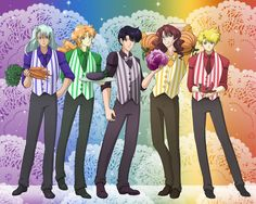Veggie Shitennou by SMeadows.deviantart.com on @DeviantArt Throwing the whole gang together in one big image!  Look at those men. XD